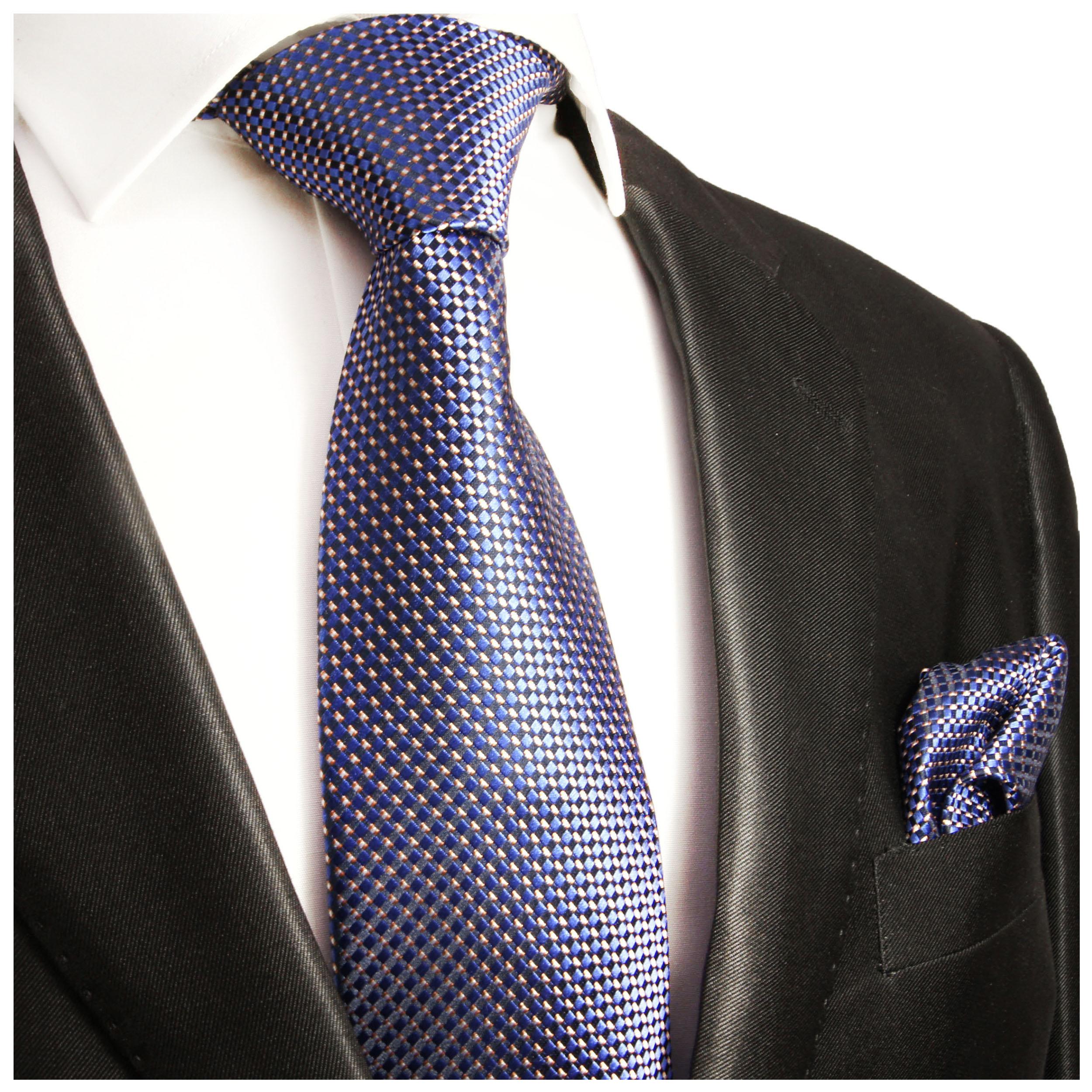 paul malone shop blaue krawatte 100 seidenkrawatte 393. Black Bedroom Furniture Sets. Home Design Ideas