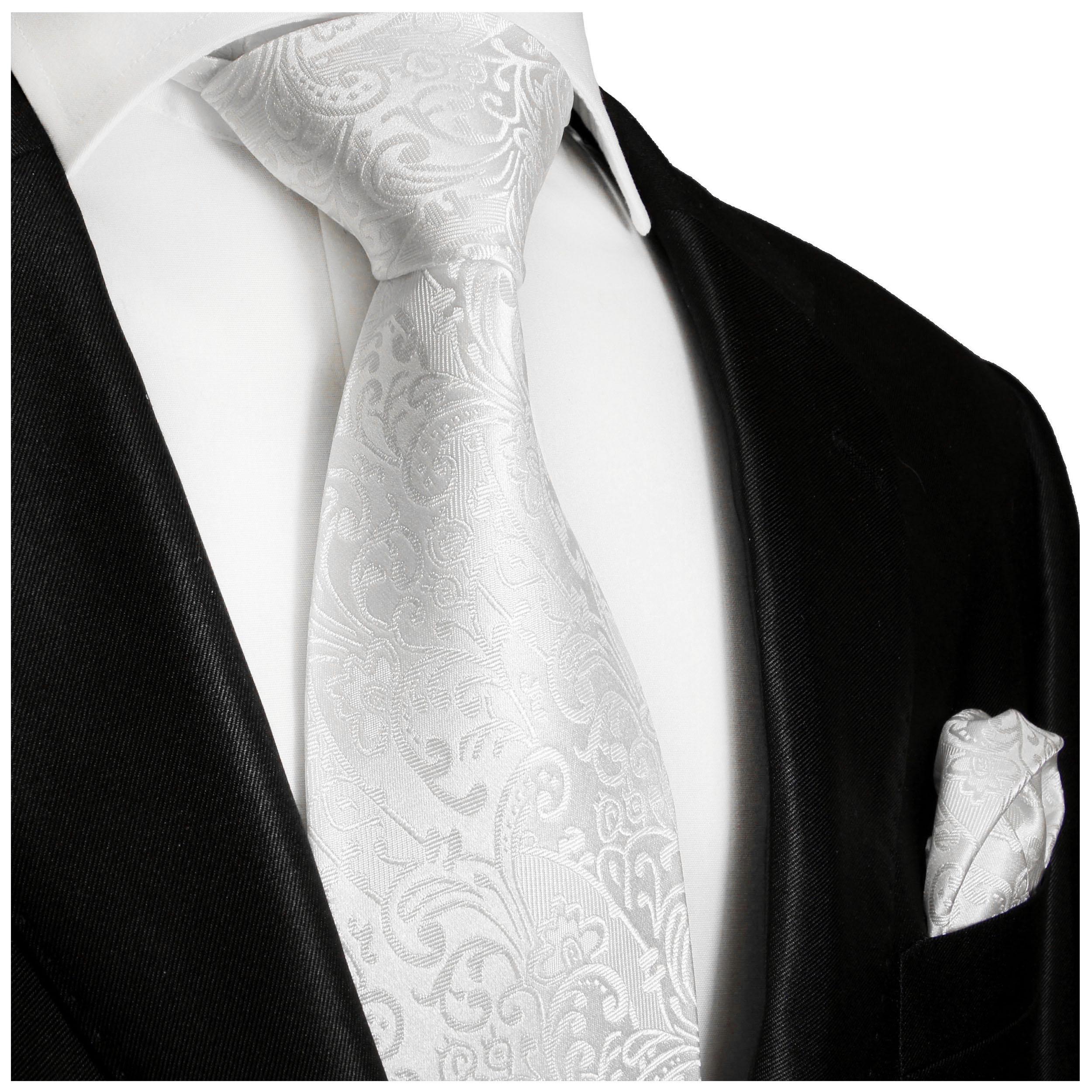 Paul Malone cravate homme dor/ée baroque 100/% soie