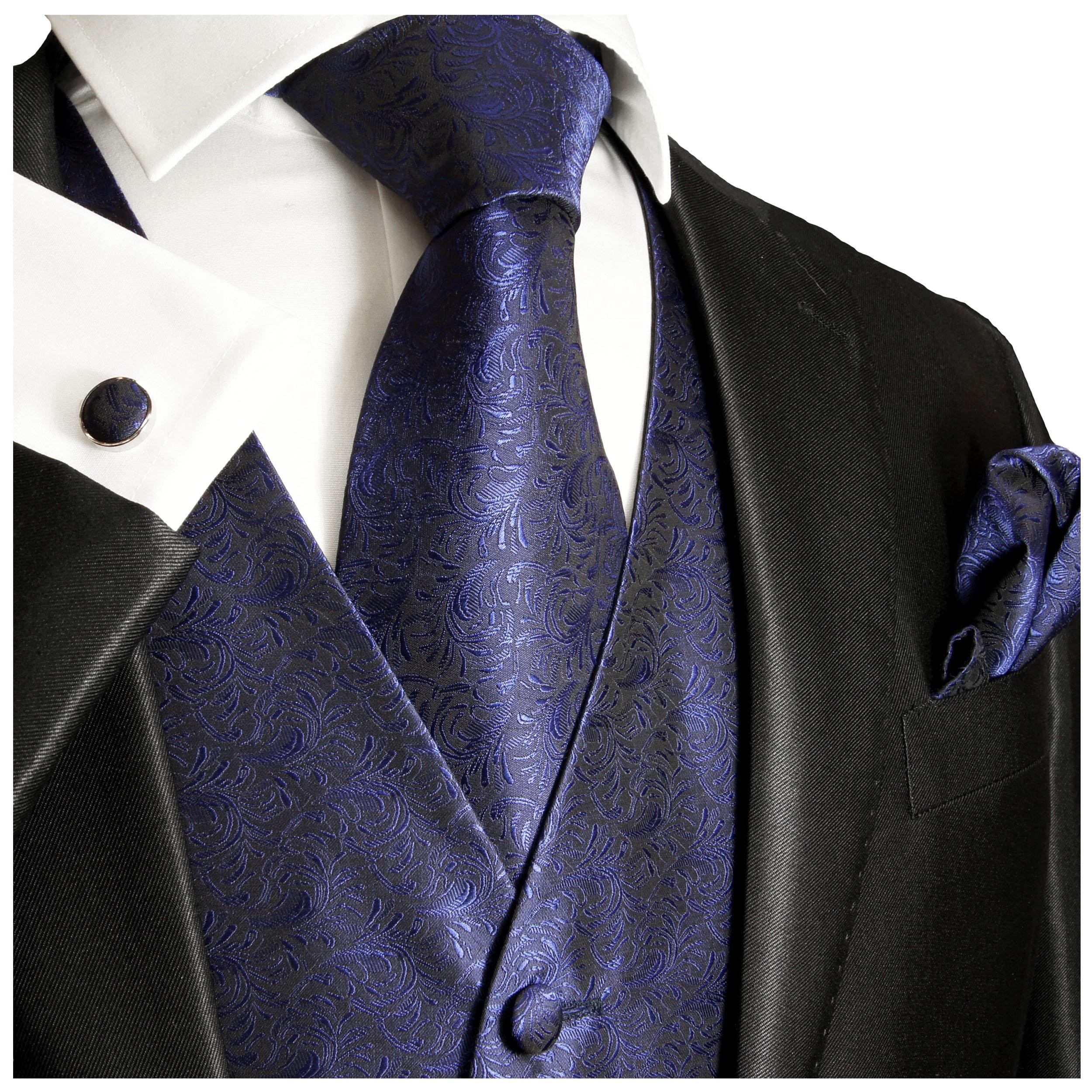 Hochzeitsweste blau   jetzt bestellen Paul Malone Shop
