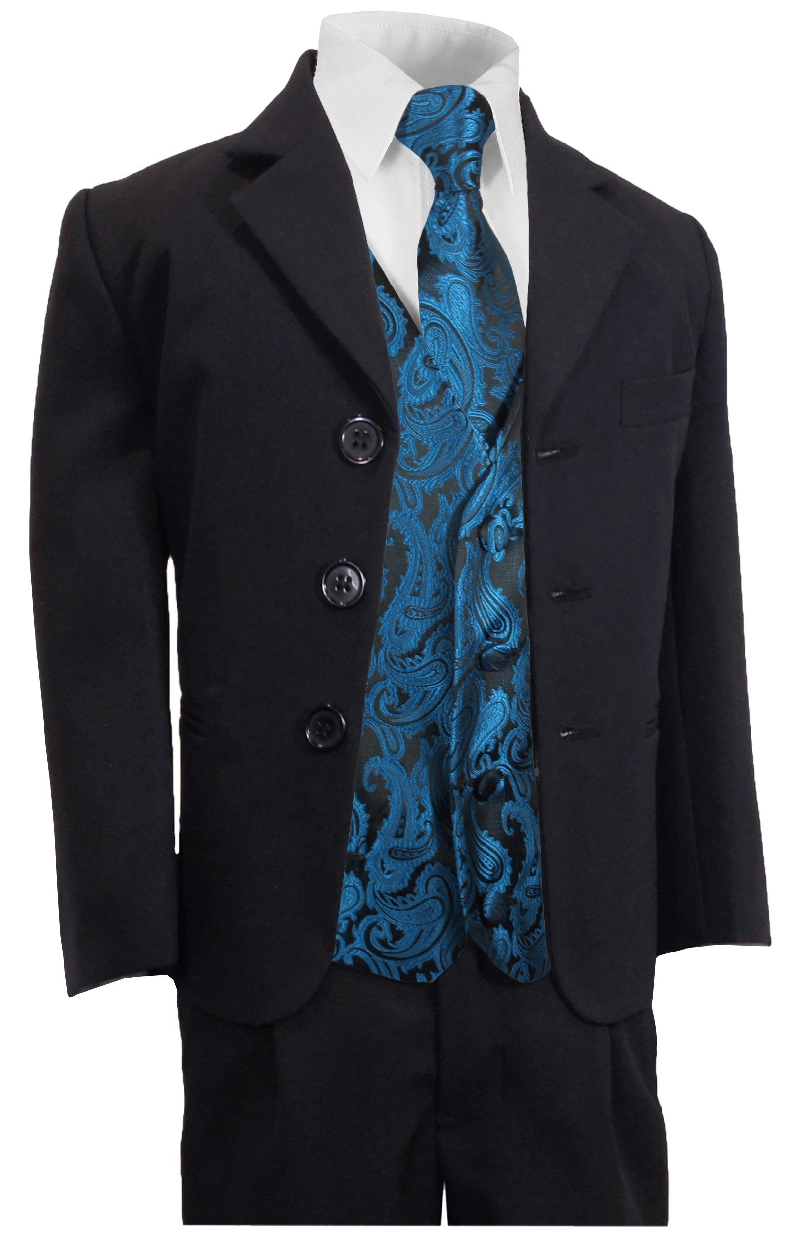 paul malone shop festlicher kinder anzug navy blau petrol westenset ka60kv100. Black Bedroom Furniture Sets. Home Design Ideas