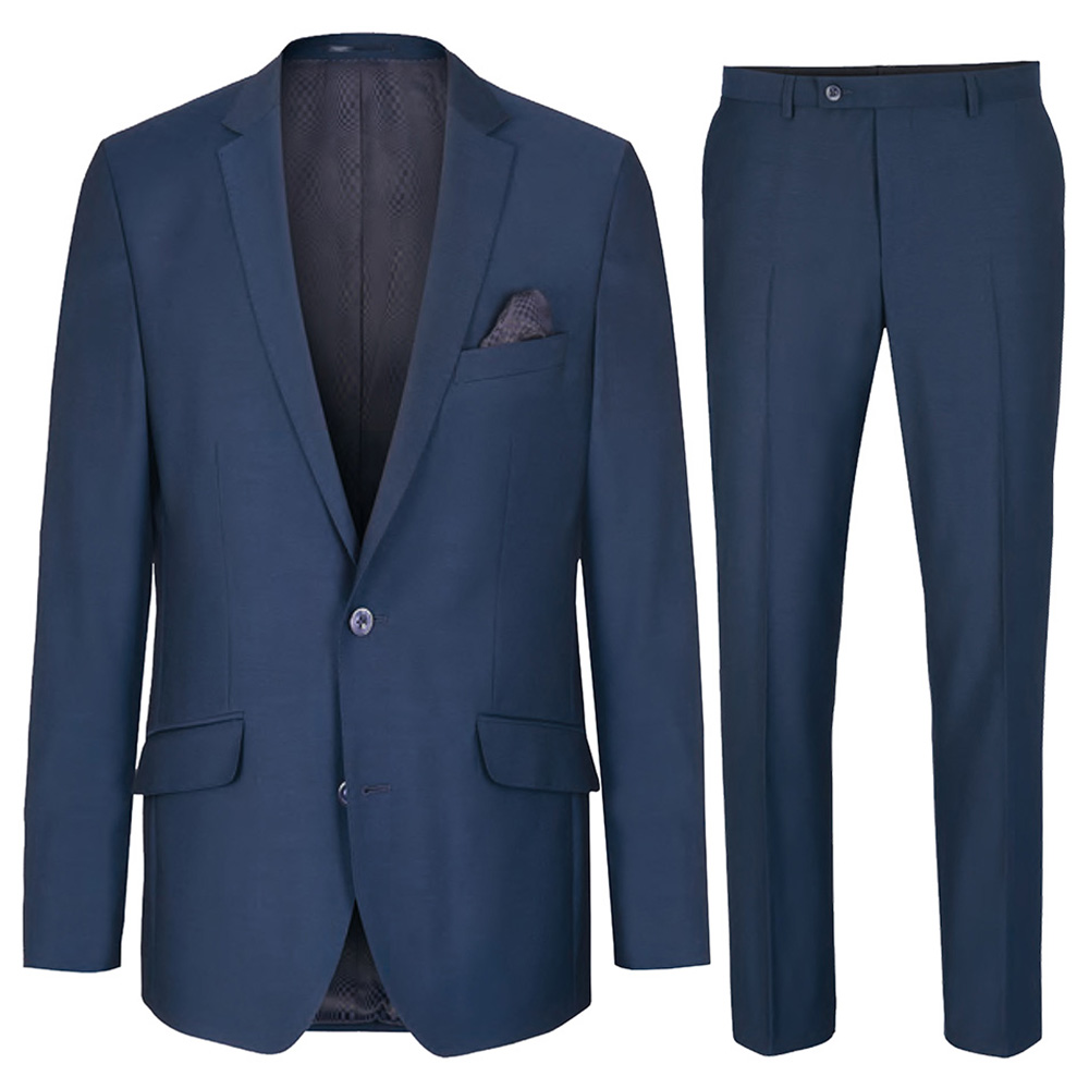 blauer anzug herren 33 sale ha28 paul malone shop. Black Bedroom Furniture Sets. Home Design Ideas