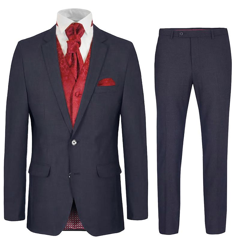Fliege blauer anzug bordeaux Blauer Anzug,
