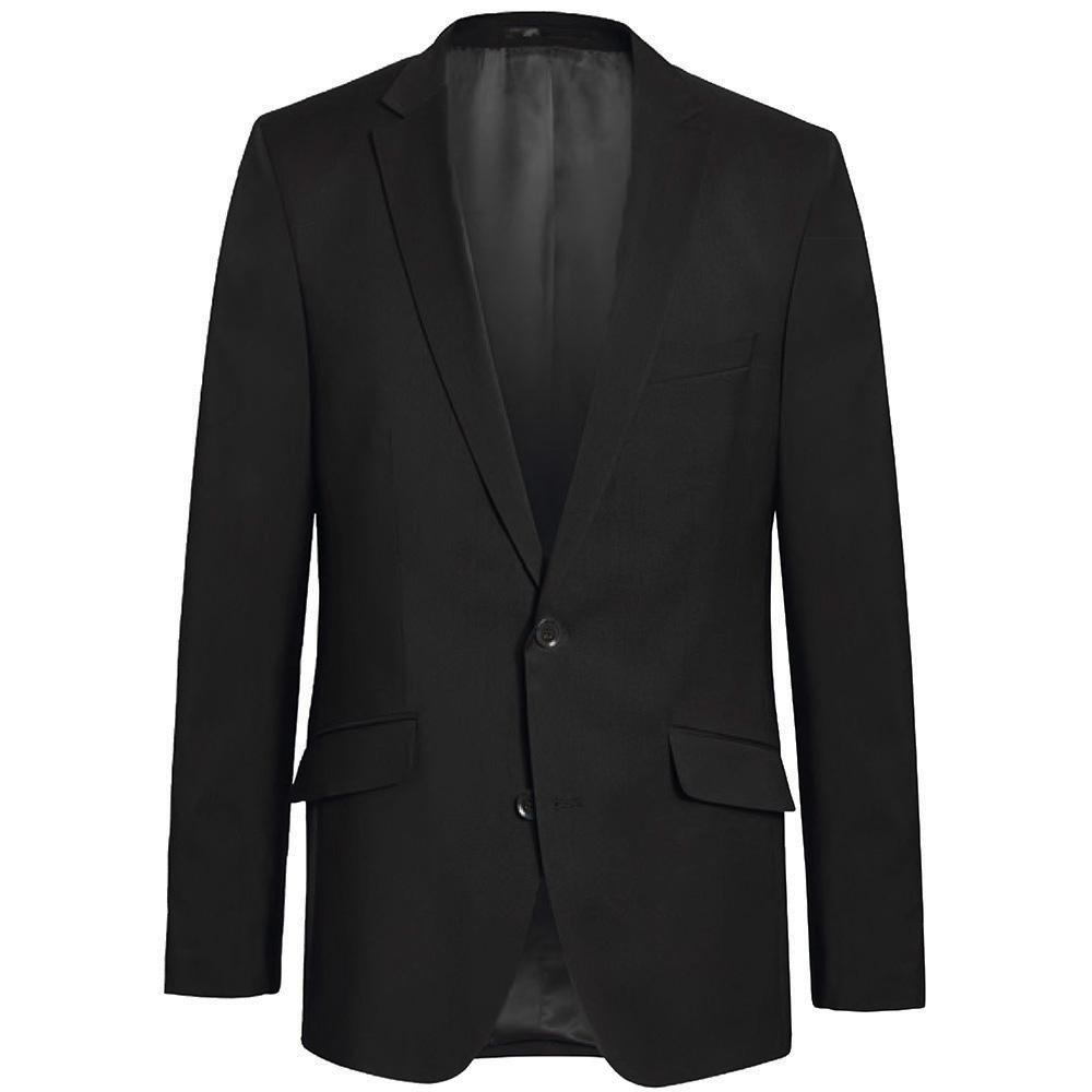 Herren Sakko schwarz für Herren | 100% Schurwolle