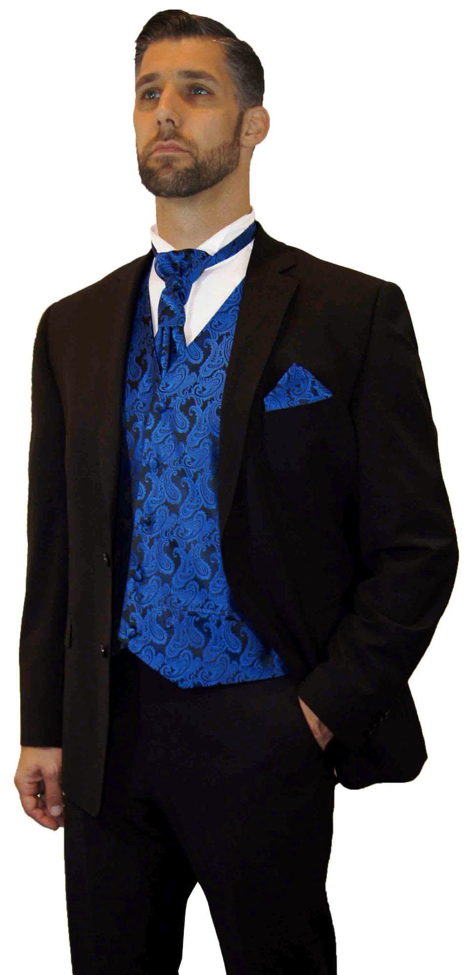 hochzeitsanzug braun modern hochzeitsweste blau paisley paul malone shop. Black Bedroom Furniture Sets. Home Design Ideas