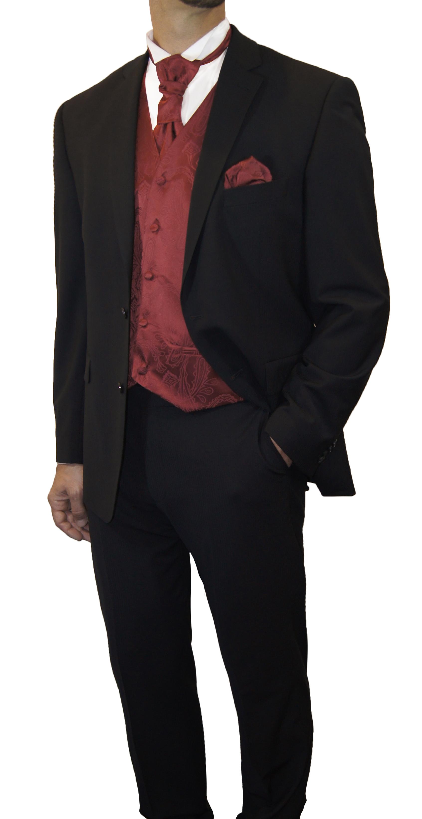 Wedding tuxedo black with boys suit black red   Paul Malone Shop