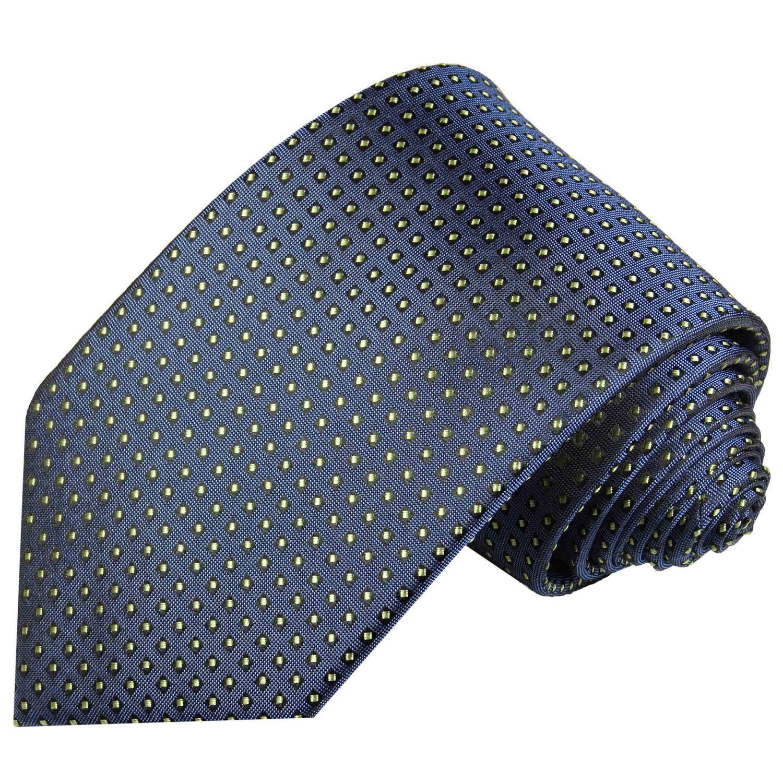 Soul Cats/® SET gemusterte Krawatte mit Einstecktuch Modell:Modell 5 Anleitung Streifen Schlips Herren