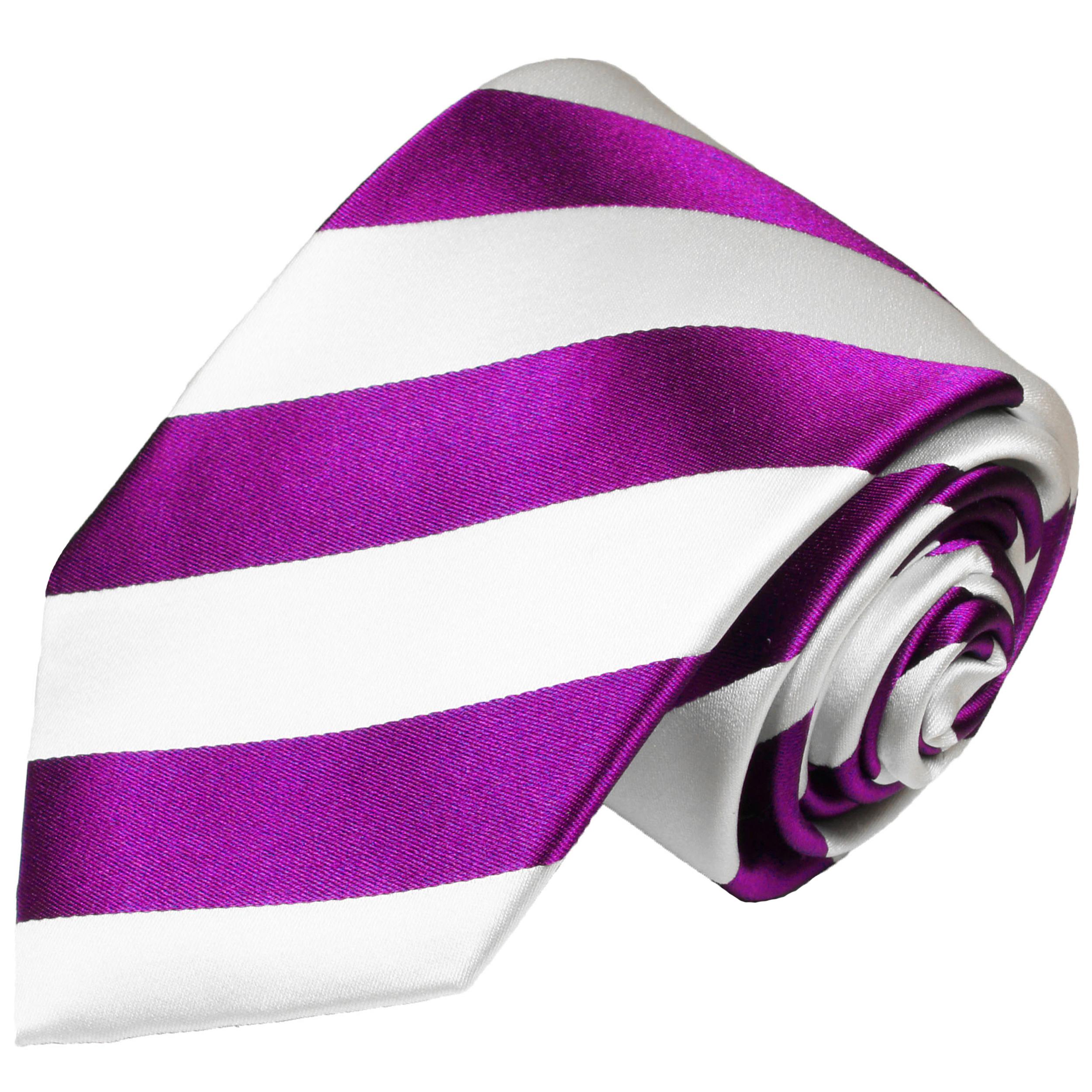 krawatte pink gestreift 451 jetzt bestellen paul malone shop. Black Bedroom Furniture Sets. Home Design Ideas