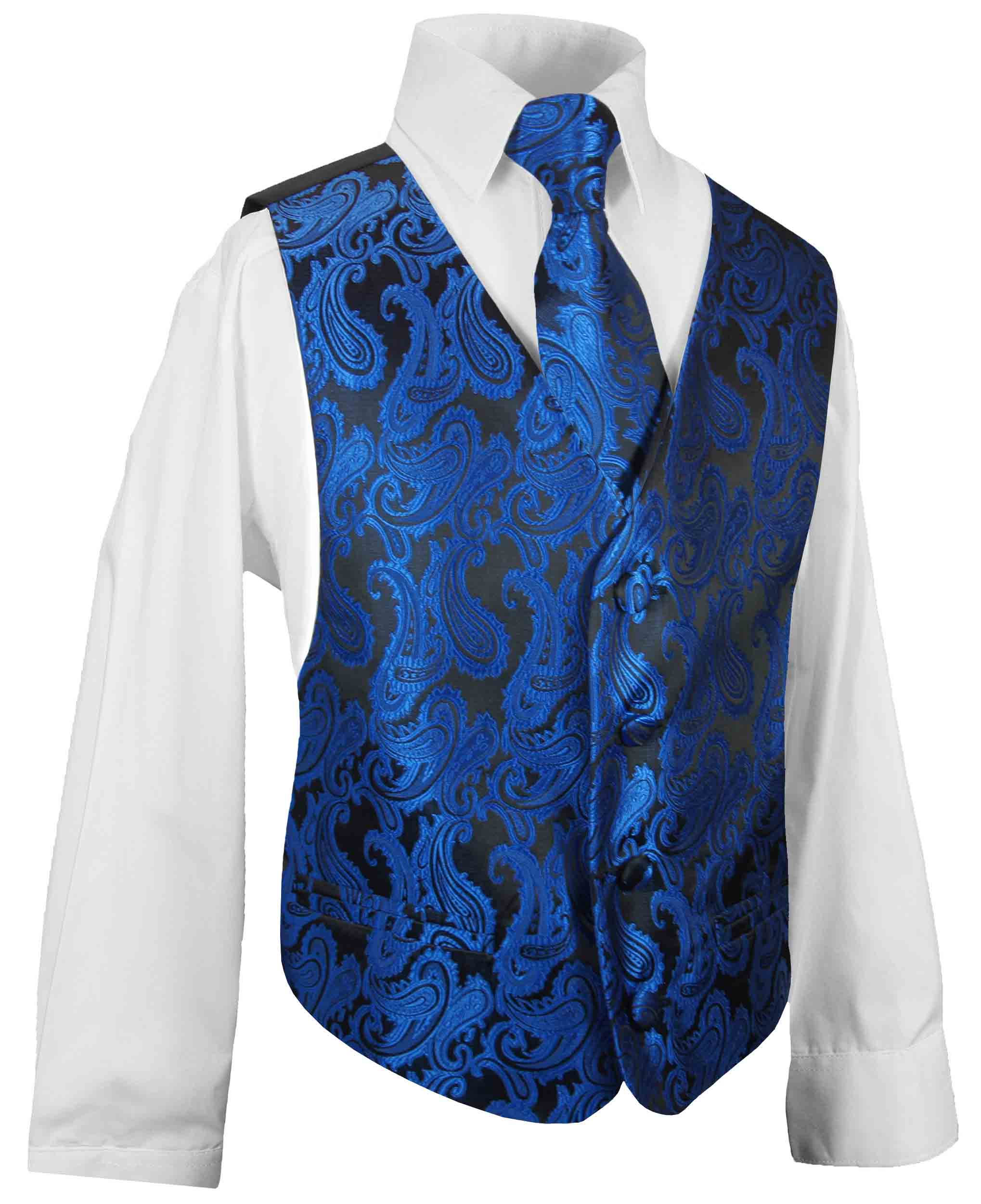 kinderanzug festlich blau blaue weste paul malone shop. Black Bedroom Furniture Sets. Home Design Ideas