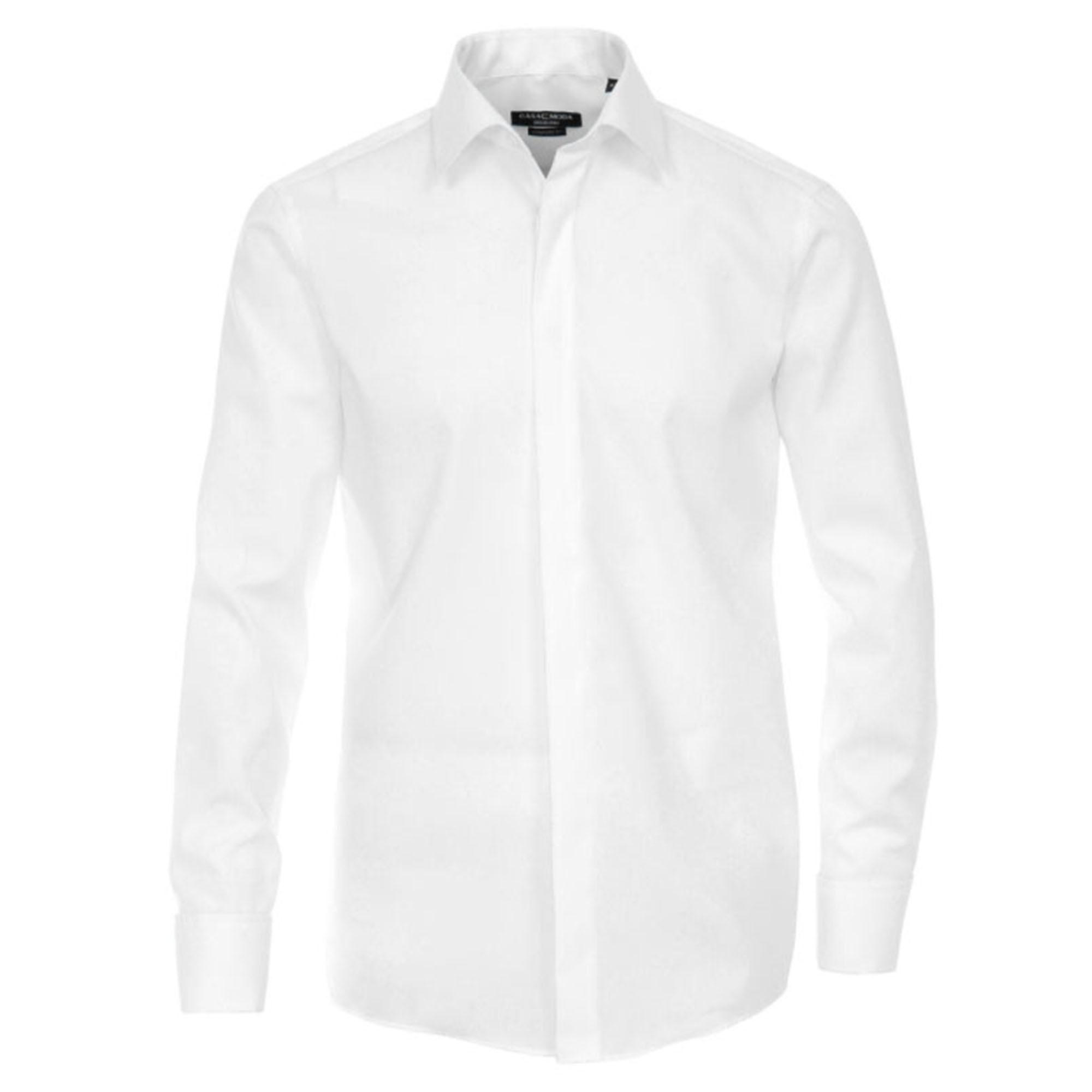 eae09713bce Casa Moda shirt HL8 white kent collar - Paul Malone Shop