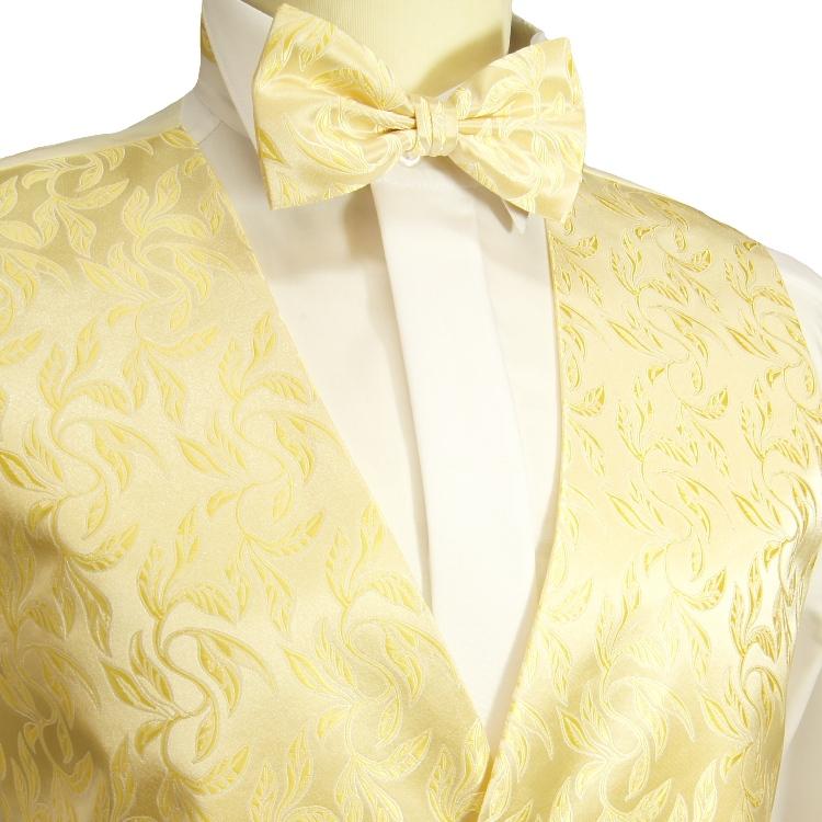 paul malone shop hochzeitsweste 4tlg set creme gold mit. Black Bedroom Furniture Sets. Home Design Ideas