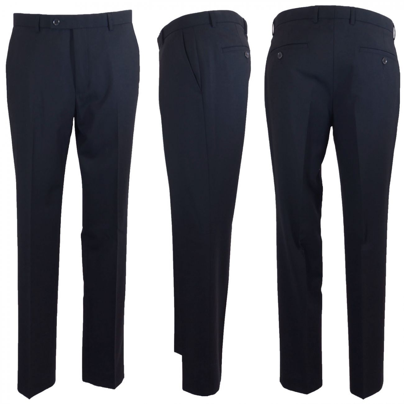 Mens dress pants blue