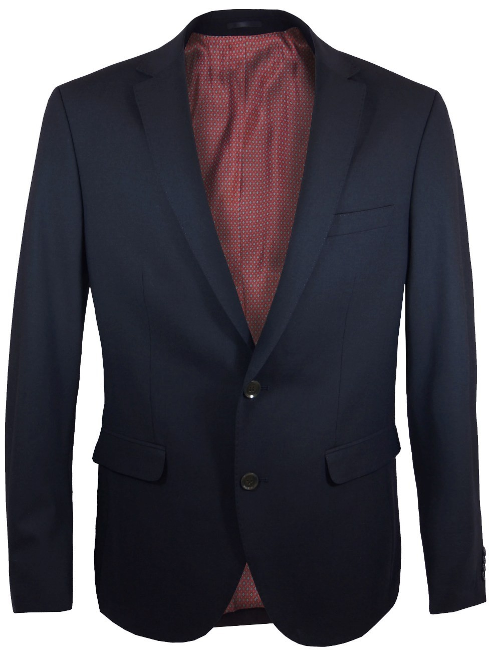 Mens dress suit blue jacket