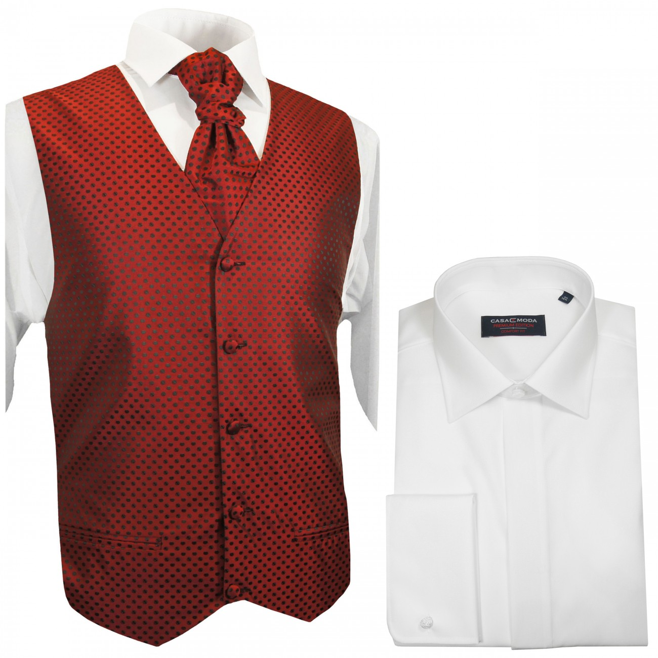 Wedding Vest Set + Wedding Shirt