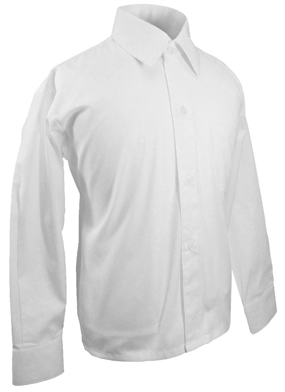 Boys shirt solid white
