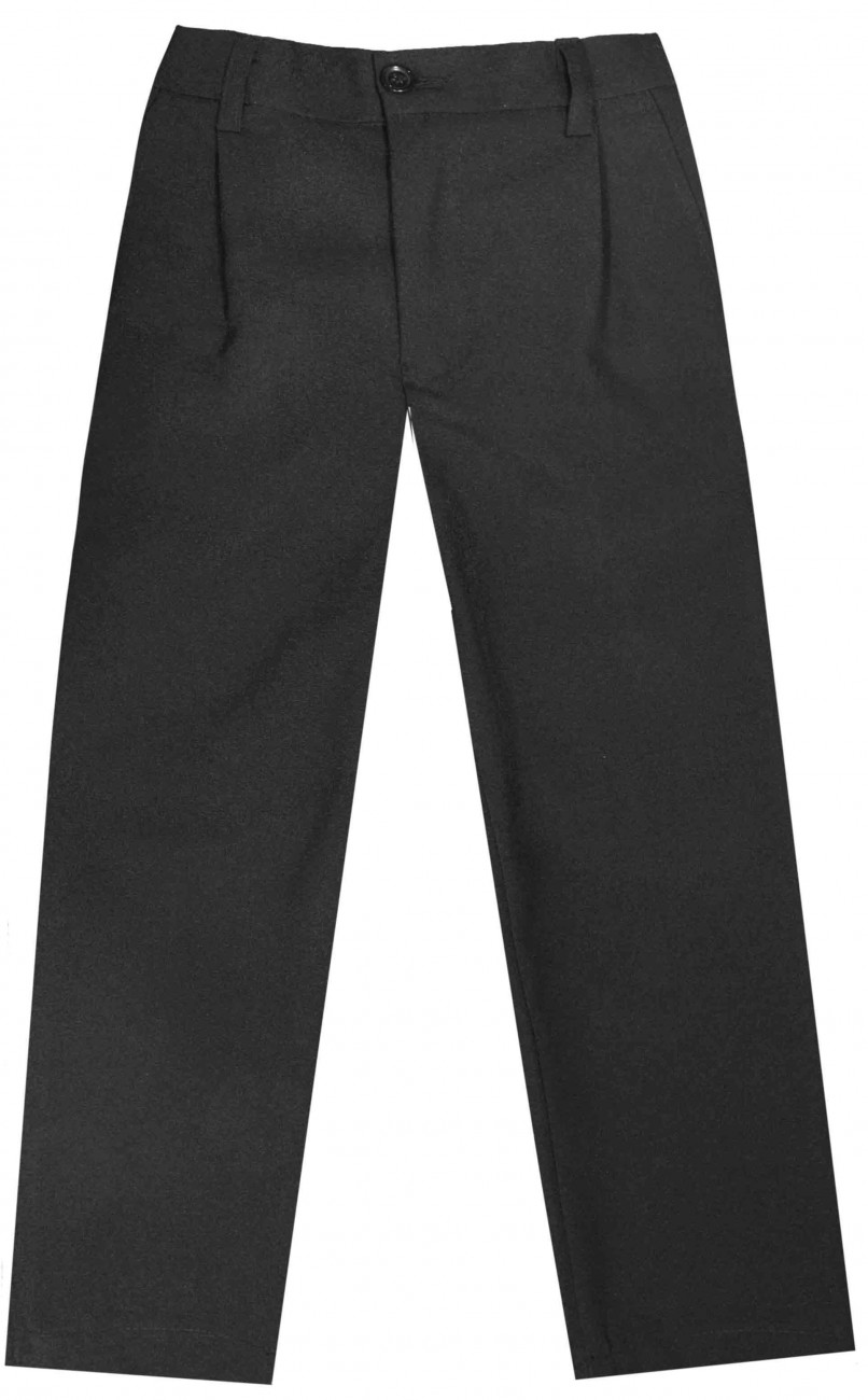 Boys suit trousers black 41