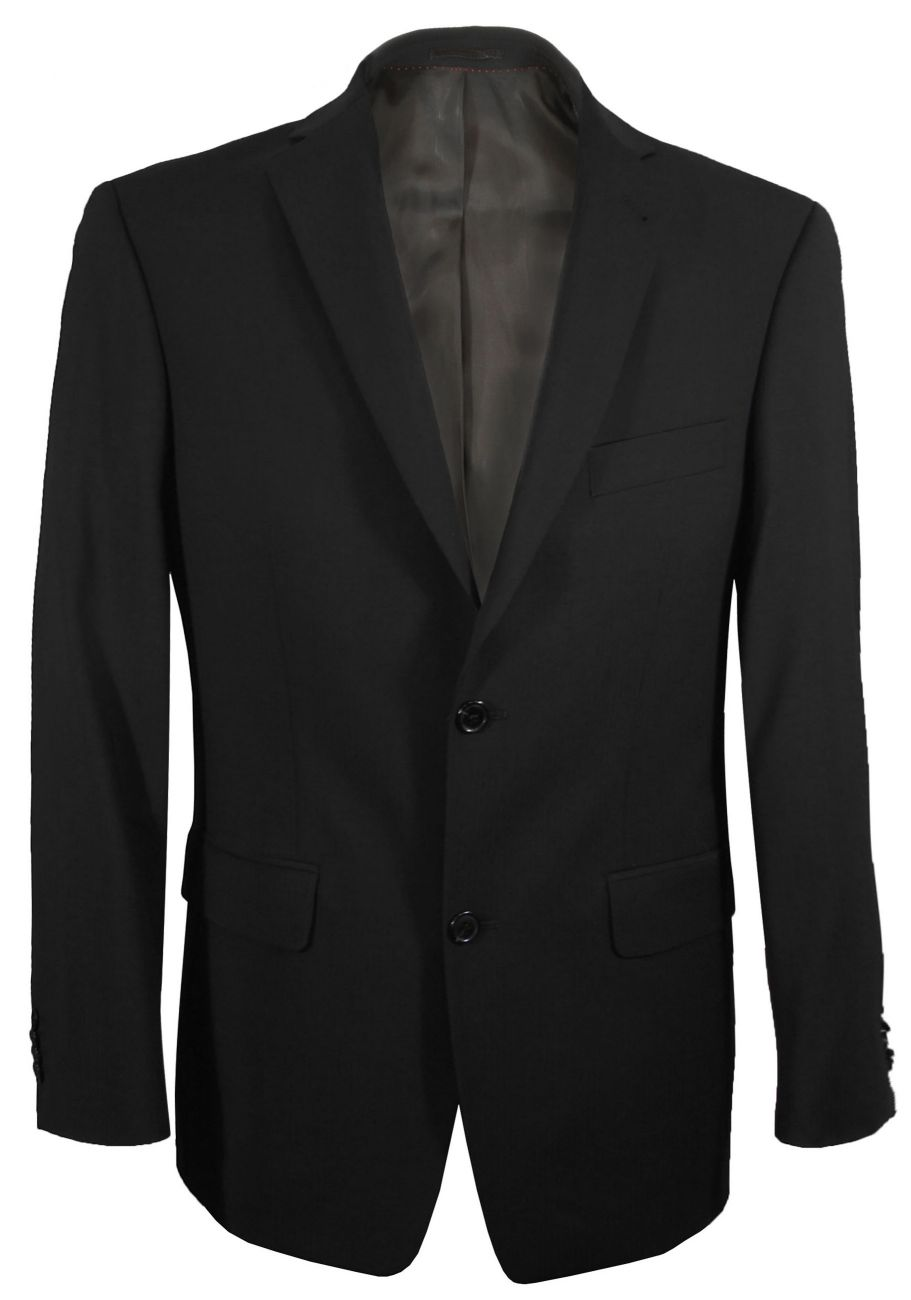 Black suit jacket