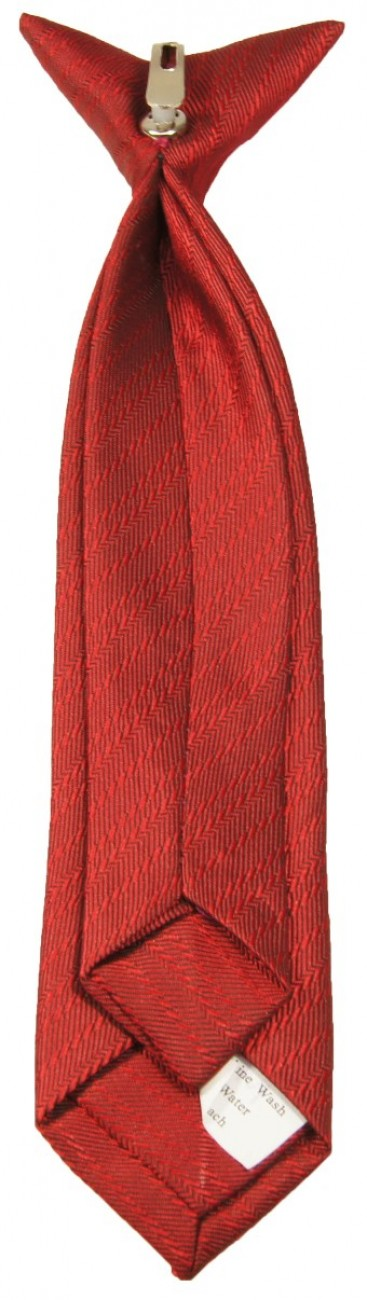 Red boys tie