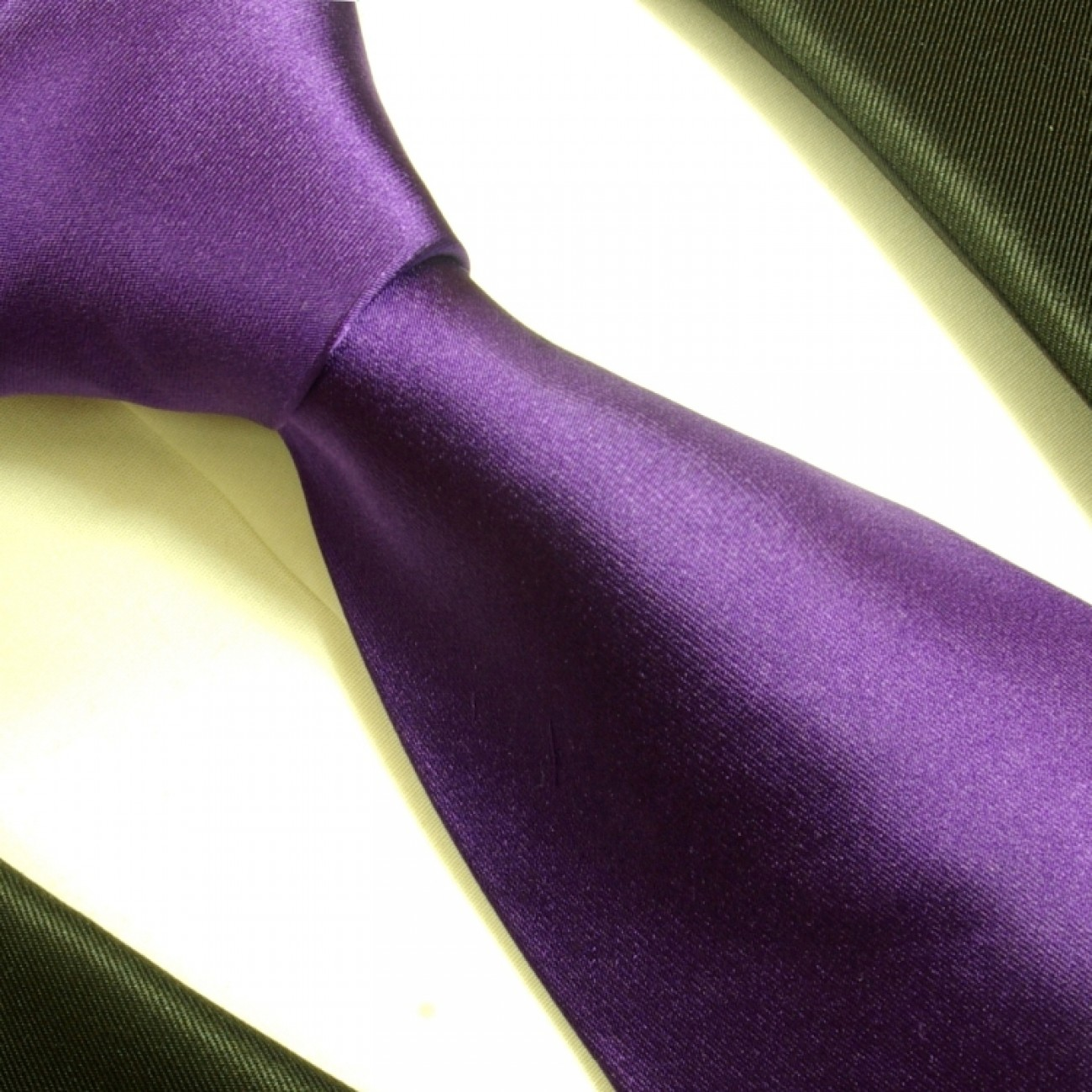 purple necktie set 3pcs