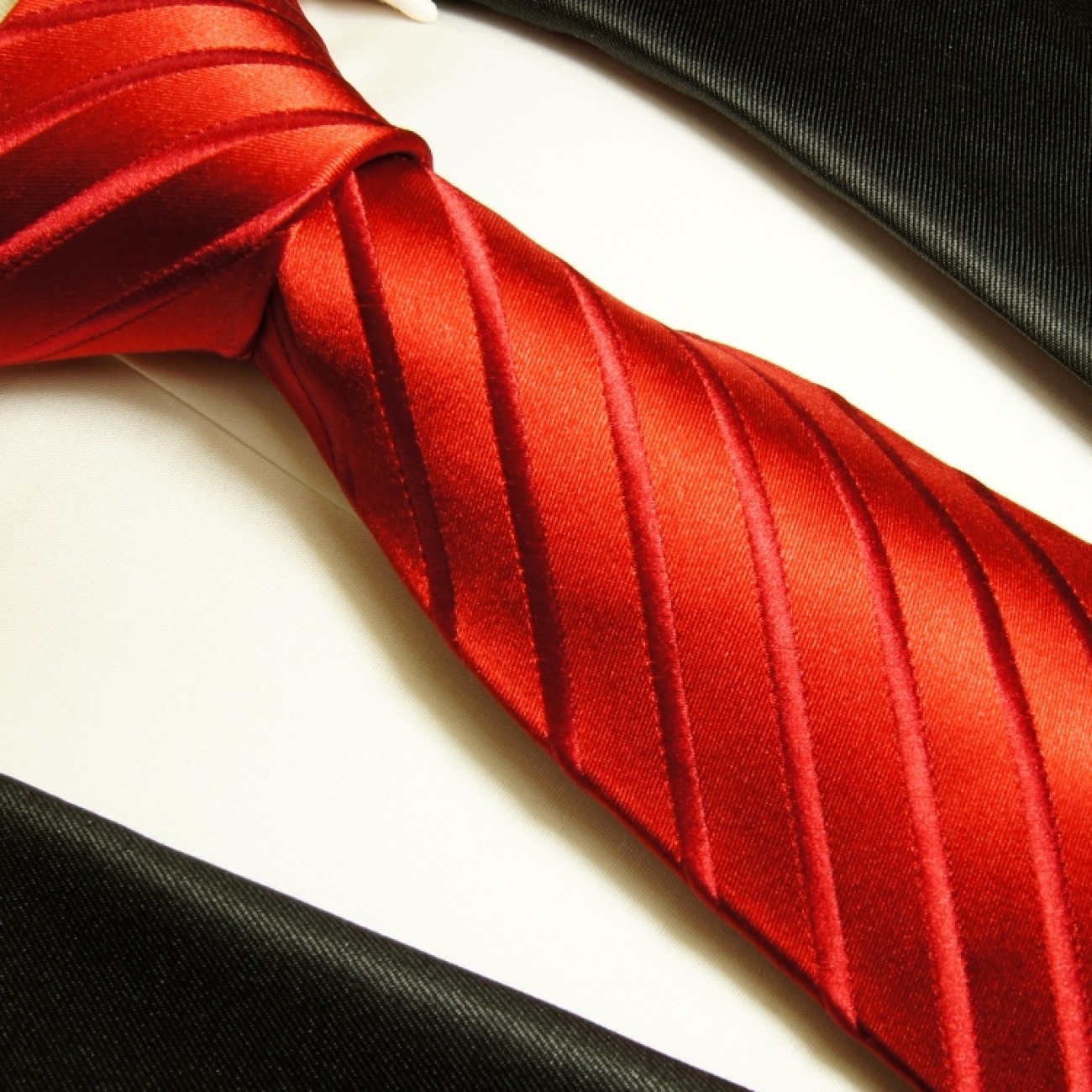 paul malone shop paul malone krawatte 100 seide rot 441. Black Bedroom Furniture Sets. Home Design Ideas