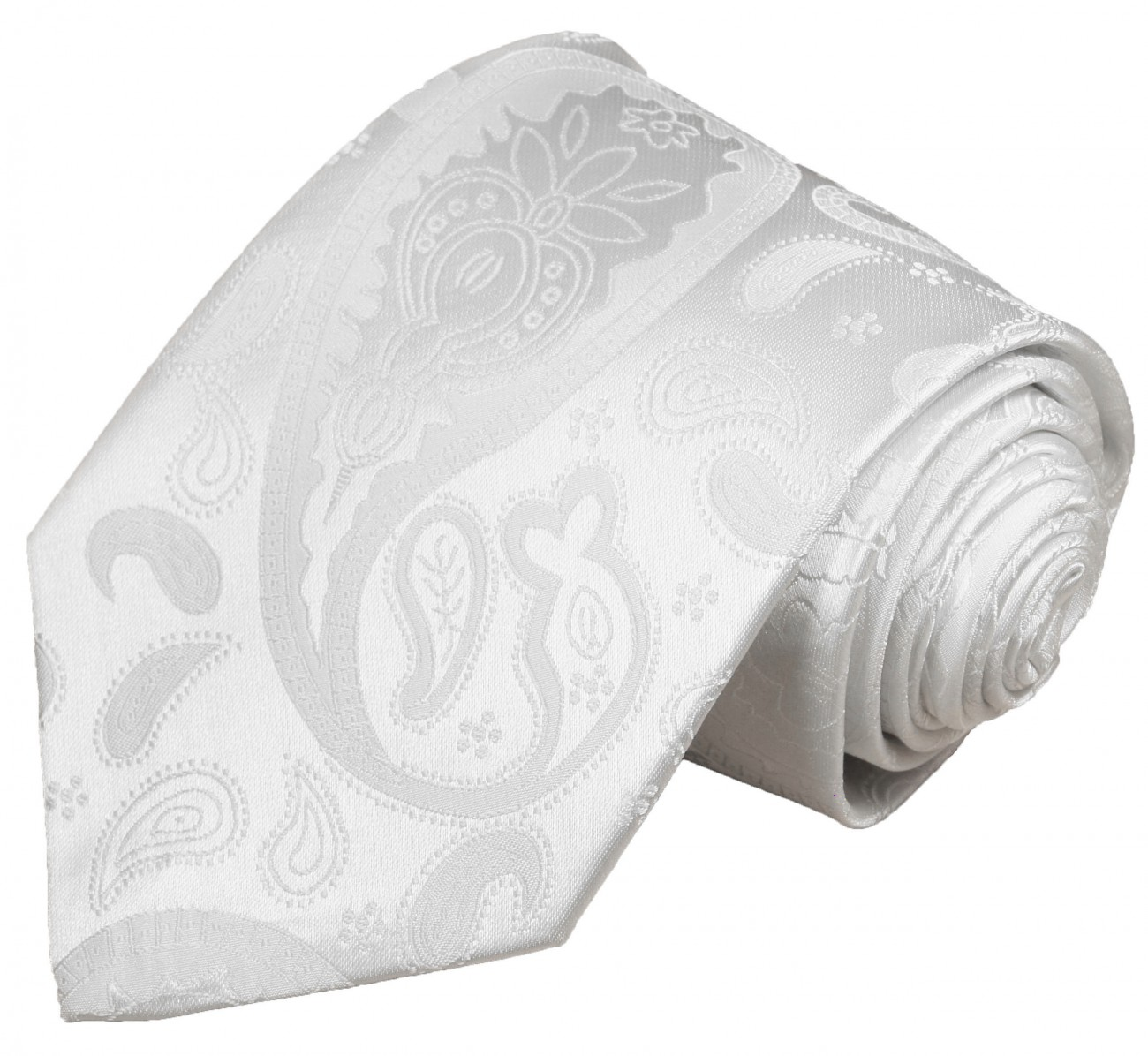 White tie for wedding paisley pattern v17