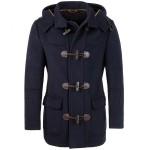 Men's navy blue - winter wool coat